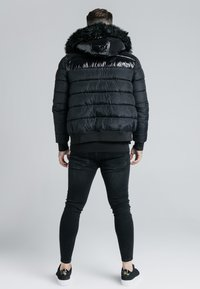 SIKSILK - ELITESHORT PARKA - Winterjas - black - 2