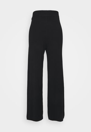 ONLLELY PANTS - Trousers - black