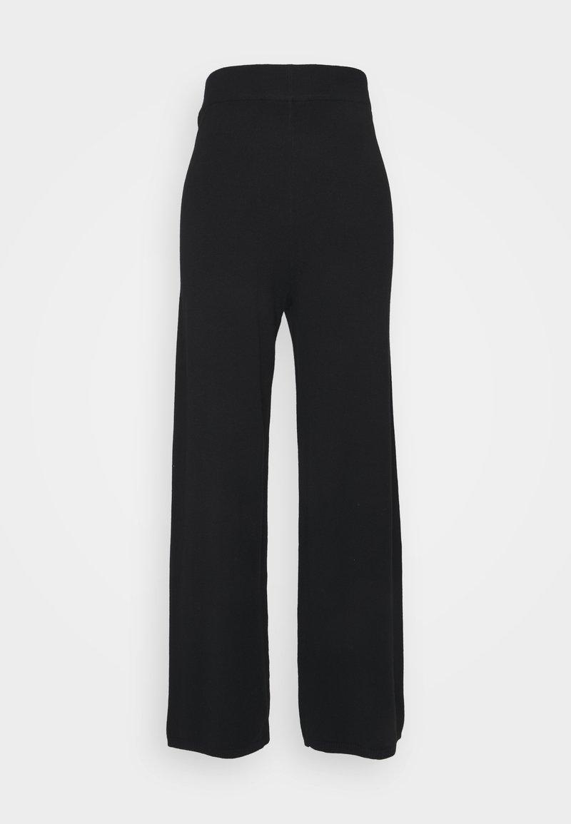 ONLY - ONLLELY PANTS - Kalhoty - black