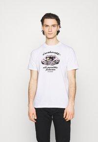 Carhartt WIP - FORTUNE - Print T-shirt - white - 0