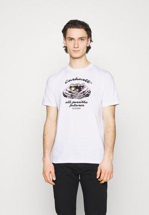 FORTUNE - Print T-shirt - white