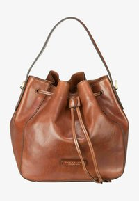 The Bridge - Handbag - brown gold - 0