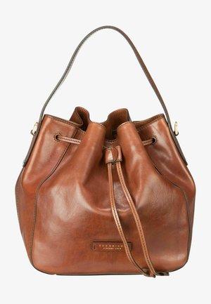 Handbag - brown gold