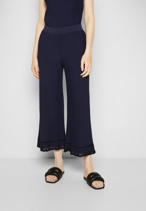 CULOTTE - Trousers - blue midnight