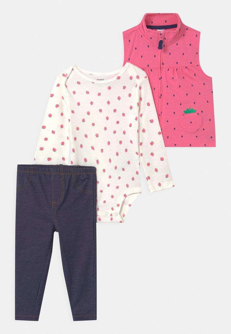 Carter's - STRAW SET - Waistcoat - pink