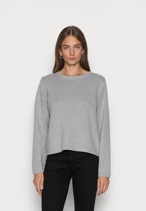 SLFALBA O NECK - Jumper - light grey melange
