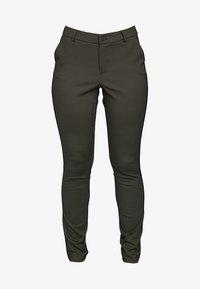 ECHTE - EBONY  - Trousers - sulphur yellow stripe - 4