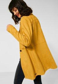 Street One - Classic coat - gelb - 1