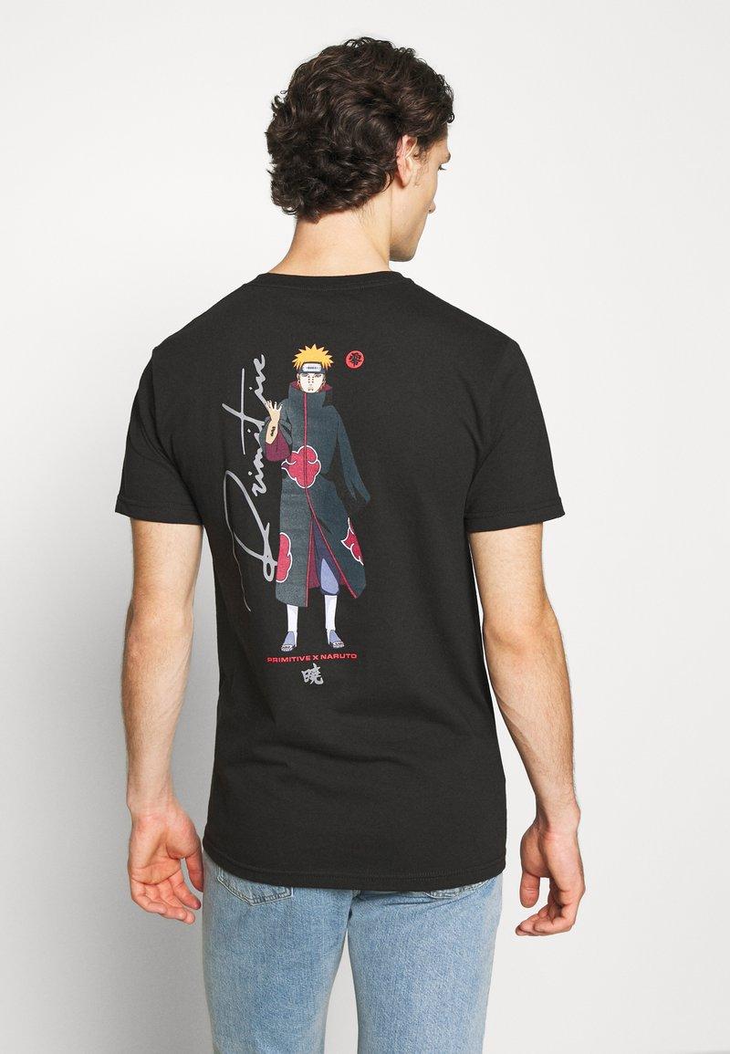Primitive - PAIN TEE - T-shirts print - black