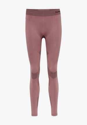 FIRST SEAMLESS TRAINING WOMEN - Leggings - dusty rose
