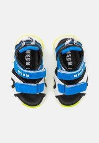 MSGM - UNISEX - Sandals - blue/white - 3