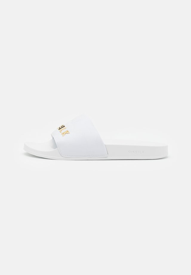 ALPHA SLIDES - Muiltjes - white