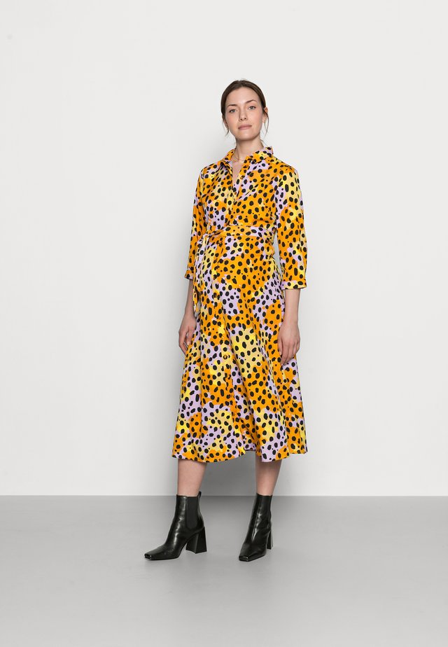PCMROSIA - Shirt dress - apricot