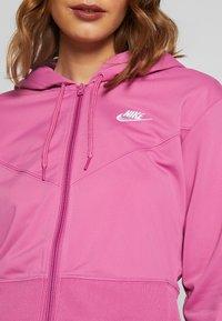 Nike Sportswear - HOODIE - Training jacket - cosmic fuchsia / white - 5
