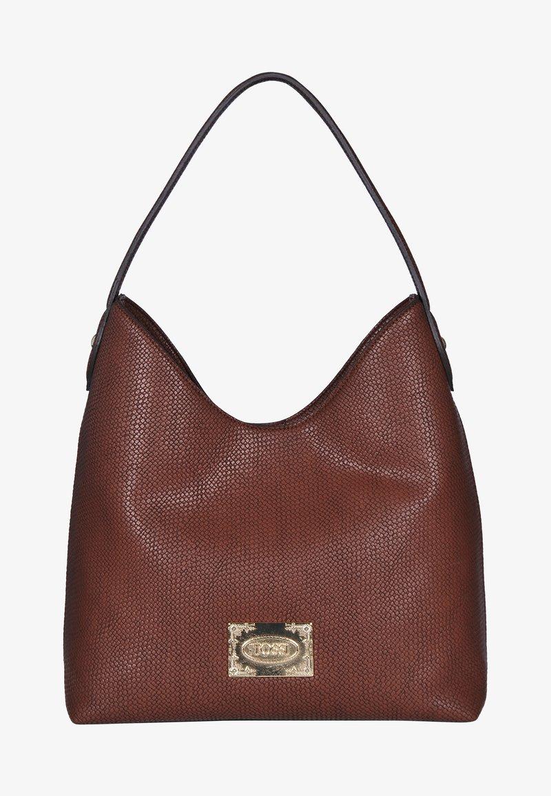 Silvio Tossi - Handbag - dunkelwhisky