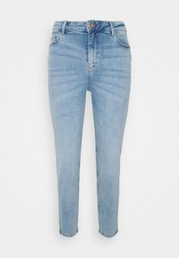 Pieces Petite - PCKESIA MOM - Jeans Tapered Fit - light blue denim - 0