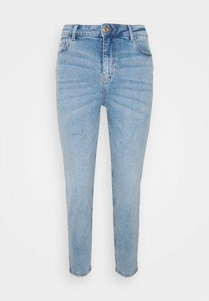 PCKESIA MOM - Jeans Tapered Fit - light blue denim