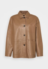 SALMONE - Leather jacket - erde