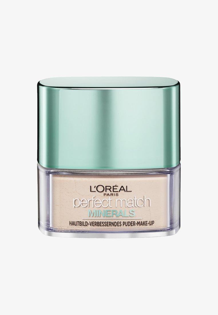 L'Oréal Paris - PERFECT MATCH MINERALS - Puder - 1r/1c ivoire