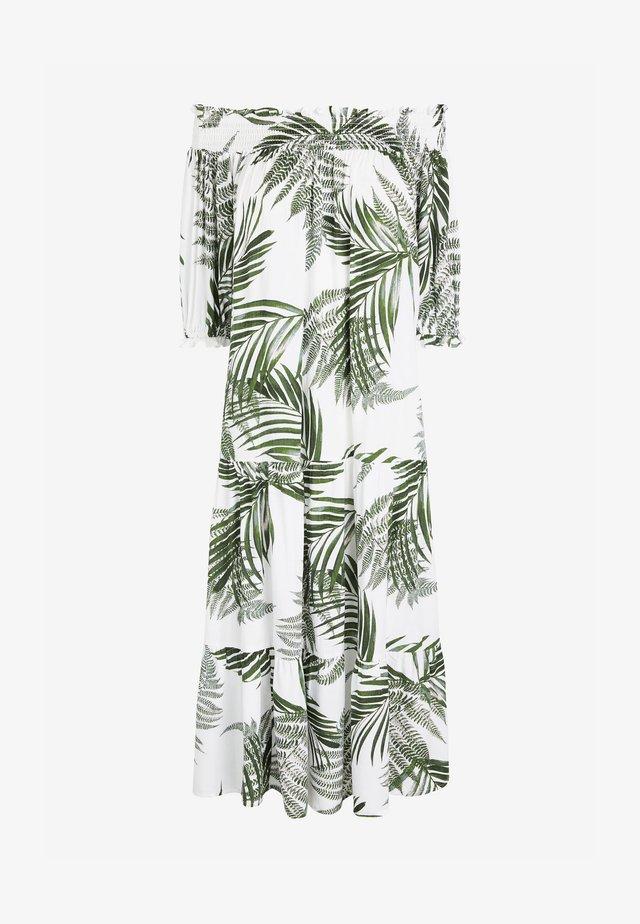 SHIRRED OFF - Sukienka letnia - green