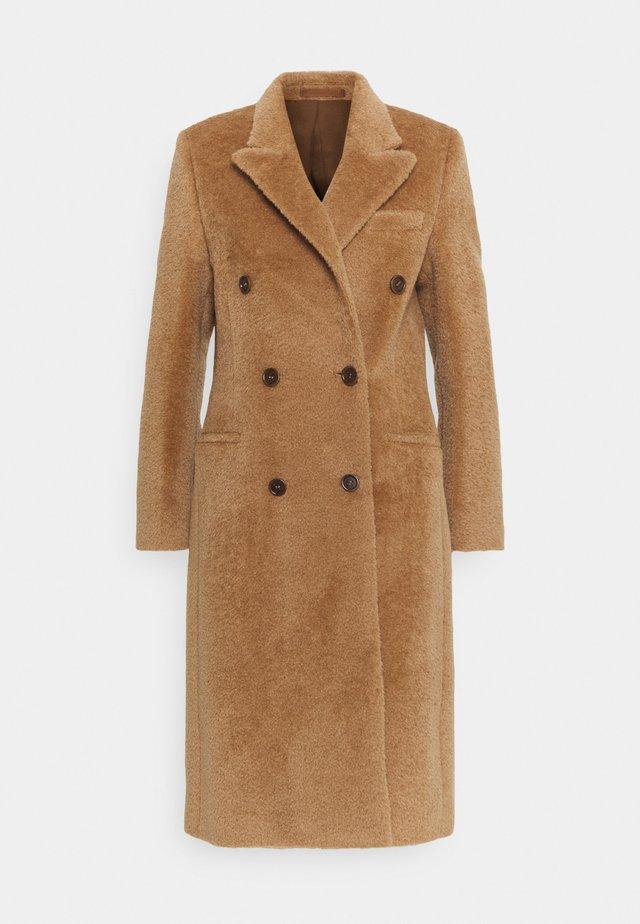 SALVIA - Płaszcz wełniany /Płaszcz klasyczny - mink