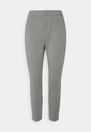 ONLPOPTRASH LIFE STRIKE PANT - Trousers - medium grey melange