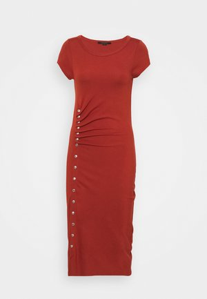 HATTI TEE DRESS - Vestido largo - arabian spice red