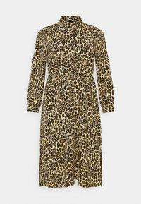 PCLESLIE MIDI SHIRT DRESS  - Shirt dress - buttercup