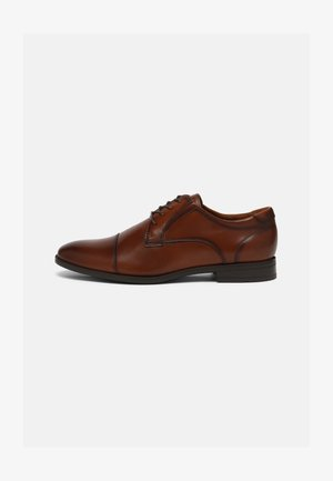 CORTLEY FLEX - Smart lace-ups - cognac