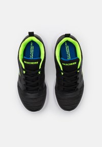 Skechers - BOUNDER - Trainers - black/blue/lime - 3