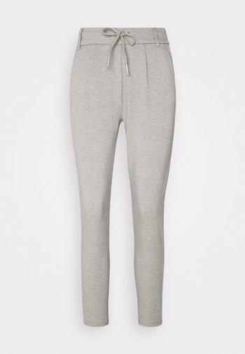 ONLPOPTRASH EASY COLOUR PANT - Trousers - light grey melange