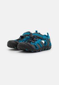 Color Kids - TOE CAP UNISEX - Chodecké sandály - turkish tile - 1