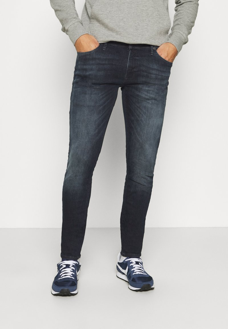 Jack & Jones - JJILIAM JJORIGINAL - Slim fit jeans - black denim