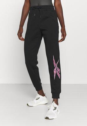 MODERN SAFARI JOGGER - Pantalon de survêtement - black
