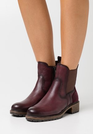 Classic ankle boots - merlot