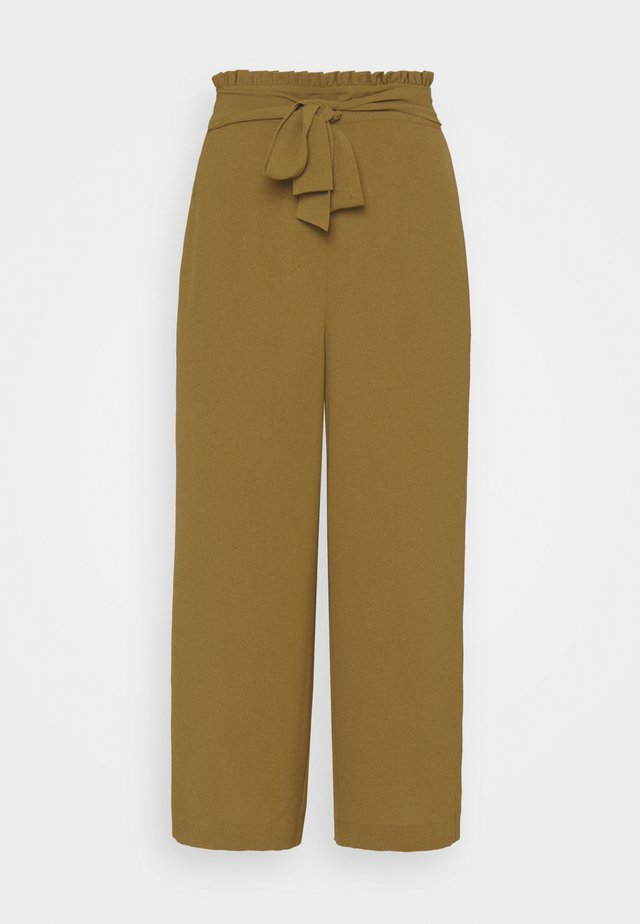 VIRASHA CROPPED WIDE PANT  - Broek - butternut