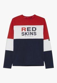 Redskins - EWAN - Long sleeved top - red/navy - 0