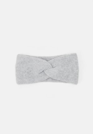 PCBENILLA HEADBAND  - Čelenka - light grey melange