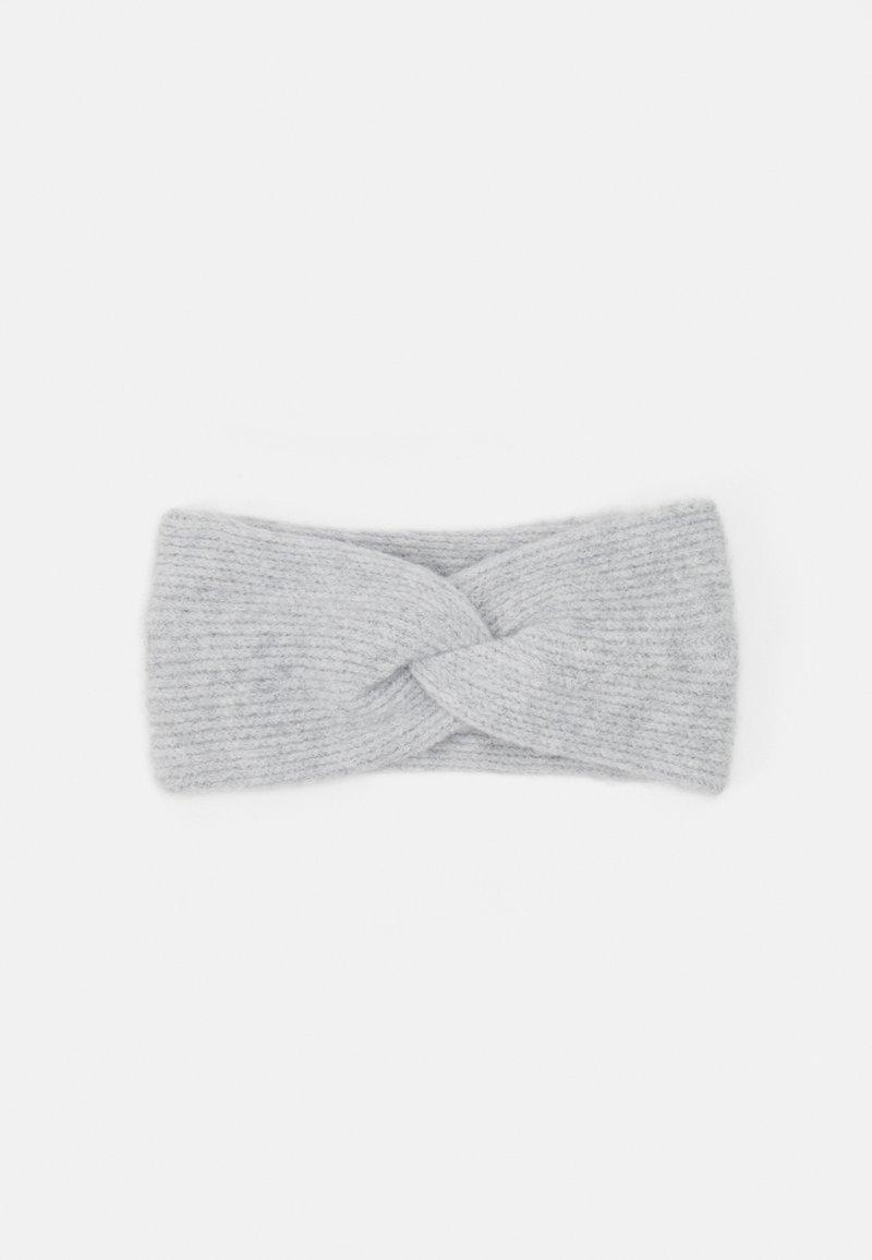 Pieces - PCBENILLA HEADBAND  - Ørevarmere - light grey melange