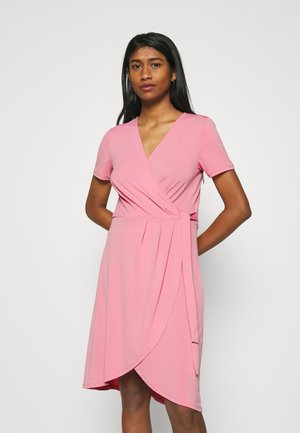 VINAYELI KNEE WRAP DRESS - Jersey dress - wild rose