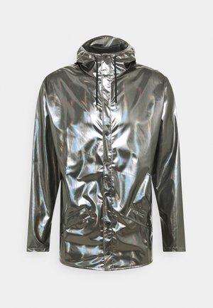 JACKET UNISEX - Vodotěsná bunda - holographic steel