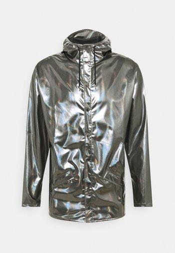 JACKET UNISEX - Regnjakke - holographic steel