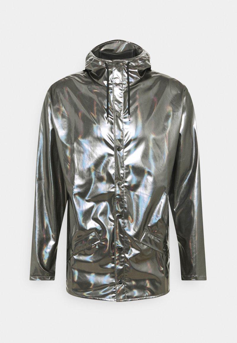 Rains - JACKET UNISEX - Waterproof jacket - holographic steel