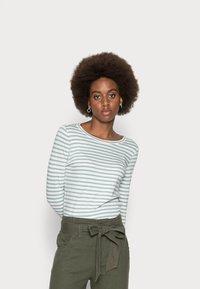s.Oliver - Long sleeved top - aqua blue - 0