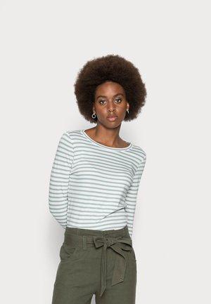 Long sleeved top - aqua blue