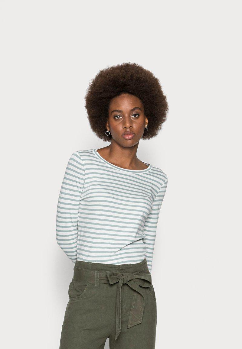 s.Oliver - Long sleeved top - aqua blue