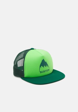 KIDS' I-80 TRUCKER SNAPBACK UNISEX - Kšiltovka - antique green