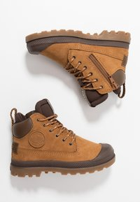 Palladium - OUTSIDER WP - Lace-up ankle boots - mahogany - 0