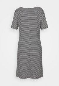 More & More - STRUCTURE DRESS - Gebreide jurk - marine/multicolor - 1