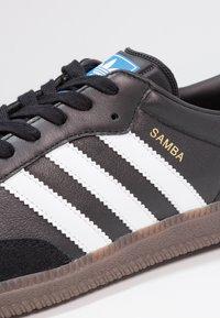 adidas Originals - SAMBA OG - Sneaker low - core black/footwear white - 5